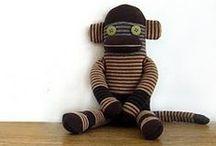 - plushwork sockmonkeys -