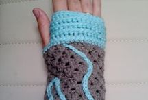crochet gloves / Handmade crochet gloves