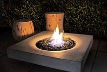 - Garden design : outdoor fire -