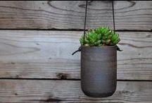 - Ceramic planters -