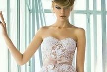 Mira Zwillinger / We are honored to showcase Mira Zwillinger gowns at Joan Pillow Bridal.