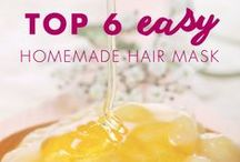 DIY Hair Recipes / Use natural ingredients to create your own hair products. / by Hairfinity Hair Vitamins