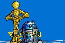 [Star Wars] Droids / These are all the droids you're looking for...