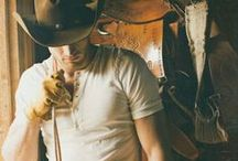 Hunky Cowboys / Need we say more? / by Petticoats & Pistols
