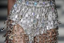 Chic & couture / Visual inspiration drawn from designers, bridal collections, embellished gowns, feminity, chic.