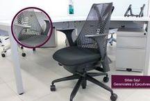 Sillas Gerenciales, Ejecutivas y Operativas / Las mejores Sillas Gerenciales para tu oficina.