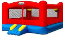 Residential Bounce Houses / Residential bounce houses are ideal for children 3-10 years of age that are under 100 lbs in weight.  Meant for home use only.
