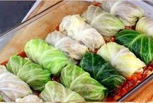 Cabbage Recipes / Who knew there were SO many ways to cook with cabbage?!!  Recipes, as well as handling, preparing, & cooking tips that will help insure Jersey Fresh cabbage deliciousness!