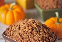 Pumpkin Everything Recipes / There's SOOO many amazing pumpkin recipes ... most of which start out with a simple homemade pumpkin puree (that can be frozen & used at your leisure!) These recipes will no doubt help insure your Jersey Fresh pumpkin deliciousness!