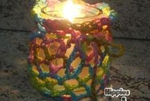Hippies & Chiliques / Um mundo de cores!!! Artesanato para quem ama artesanato  http://hippiesechiliques.blogspot.com.br/