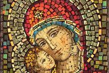Arte com Pedras - Mosaico / by ivete barbieri