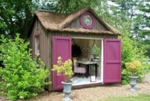 Garden tool & wood shed / Garden tools & wood shed