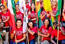 A Global University / As Alabama's International University, Troy University is committed to providing a global experience to students at our U.S. campuses and at our locations around the world