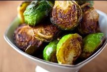 Bushels of Brussels Sprouts / Delicious & interesting recipes featuring a variety of different ways to cook and eat farm fresh brussels sprouts!