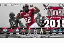 Troy Athletics / Troy University is part of the Sun Belt Conference. The University has football, baseball, men's and women's basketball, men's and women's golf, men's and women's tennis, men's and women's cross country, men's and women's track and field, and women's soccer, softball and volleyball teams.