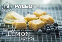 Paleo Dessert Recipes / Paleo dessert recipes for all those with a sweet tooth.