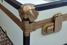 chests/trunks / chests and trunks that are made over to be functional and look pretty