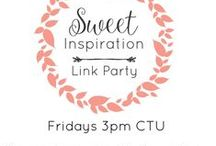 Sweet Inspiration Link Party /  Features from the Sweet Inspiration Link Party
