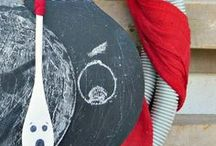 chalkboards / How to paint chalkboards and how to style them.  Purposes
