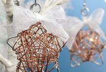 christmas ornaments / Christmas ornament ideas