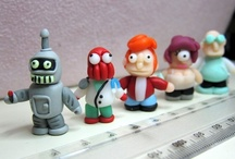 Miniature Figurines - Polymer Clay / Hand-crafted mini figurines.