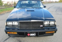 Buick Grand National & GNX / by teecee madison