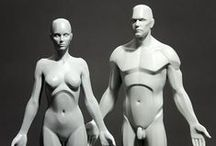 3dtotal Anatomy / A collection of affordable anatomy reference figures for traditional and digital artists alike
