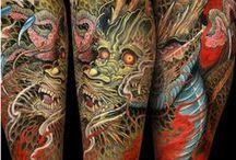 Asian Style tattoo