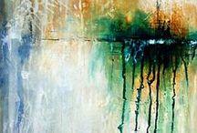 art, paint and techniques