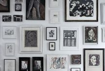 Gallery wall / Wall arrangments