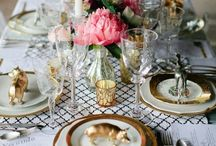 Tablescape / Table decor inspiration