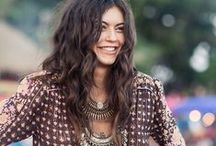 Boho / Bohemian style and fashion