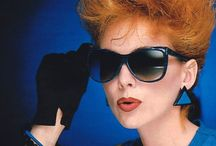 80s style - details / Make-up & hair, jewelry, accessories, footwear.