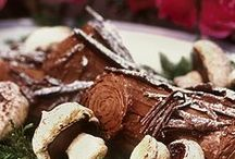 Cake - Buche de Noel and Woodland