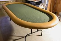 Ultimate DIY Poker Table / Ideas and inspiration to build your ultimate DIY poker table.