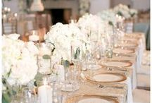 The Wedding Reception / Wedding reception inspiration from table scapes, décor, florals and more.