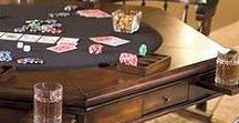 Cool Home Game Rooms / Great ideas for for your perfect game room, dream man cave, or weekly poker night.