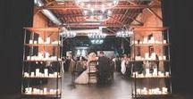 Industrial Romantic Wedding Inspiration / industrial romantic wedding inspiration