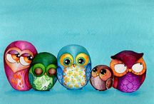 Owl Obsession / Whooooooo doesn't love owl cuteness?  / by Kelly Stacy