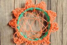 Jutselknutsels / leuke dingen gemaakt van op het strand gejutte spullen