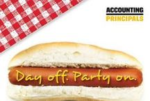 """""""Day off.  Party on."""" Labor Day contest! / Labor Day is a celebration of all workers, but we're pretty focused on recognizing the efforts of the great accounting and finance professionals out there – people like you!    We're giving away fantastic prizes every day from August 26-30, including: •Big Bobber Floating Cooler •Monogrammed BBQ Set •Tournament Bocce Set •Jambox Wireless Speaker •Omaha Steaks Gift Certificate. Enter here: http://bit.ly/153H1aV"""