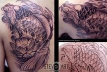 Steven Art / Steven Awodeinde, Italian artist and tattoo artist, specializing in the art of tattoo