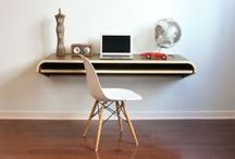 Office, Sweet Office / Seriously cool office ideas, with a few great desks, chairs, and storage solutions tossed in for fun.