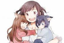 Ame und Yuki / Sehr schöner Film um zwei Wolfskinder^^