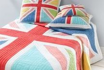 I love England / I pick up ideas especially with english symbols. I like the blue and red combination and I like pictures that symbolize England. You find here inspiration for home decor or gift ideas.
