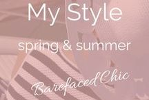 My Spring / Summer Style / Spring And Summer | Fashion • Clothes • Pro Ageing • Ageing • Celebrating Midlife • Body Positive • Ageing With Attitude • Over 40 Fashion • Over 40 Style •  Over 50 Fashion • You Can Be Chic At Any Age • Over 50 Style Guide • Ageing Disgracefully  | Award Winning Blogger and Business Consultant  | Twitter @Barefaced_Chic | Web ♥ thebarefacedchic.co.uk