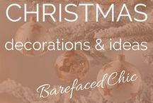 Christmas / Christmas | Christmas Ideas • Christmas Decorations • How To Decorate For Christmas • DIY Christmas • Decorating For The Holidays • Holiday Decorations • Baubles • Christmas Tree • Christmas Food • DIY Holiday Decorations • DIY Christmas Decorations • Let It Snow • Award Winning Blogger and Business Consultant | Twitter @Barefaced_Chic | Web ♥ thebarefacedchic.co.uk