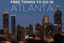 Georgia Travel Ideas   Atlanta & Beyond! / Budget-friendly things to do in Atlanta, Georgia. Travel inspiration, discounts, restaurant deals and more for the metro Atlanta region and beyond. You'll also find cheap airport parking deals for Atlanta airport (ATL, Hartsfield-Jackson), Birmingham (BHM), Chattanooga (CHA), Montgomery (MGM), Greenville-Spartanburg (GSP), Charlotte (CLT), Knoxville (TYS) and Huntsville (HSV) courtesy of AirportParkingHelper.com!