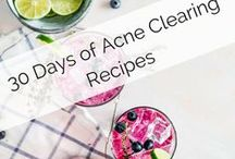 Heal Your Face With Food Challenge / Clear your acne naturally with 30 days of clear skin recipes to start to heal your skin from the inside, out. #healacnenaturally #healyourfacewithfood #clearskinnaturally #clearskindiet #clearskintips #acnetips
