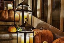 Autumn / Autumn is my favorite time of year! The fall decorations are so lovely. I so enjoy the beautiful colors that God fills our world with this time of year. Enjoy...